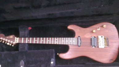 Charvel USA Abdella with carbonized maple neck