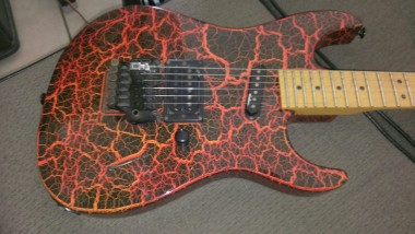 Mike G's Charvel 3dr
