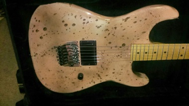 This guitar was made for EVH and was given to Rick in 1984