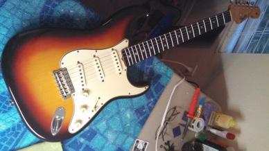 Tony R. from Godsmack 1964 Fender Strat