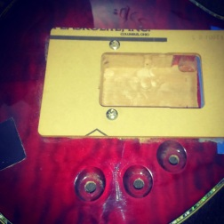 I installed an Evertune in Tim's guitar