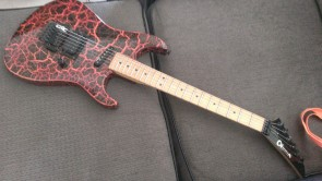 Mike G's Fire crackle 3dr Vintage MIJ Charvel